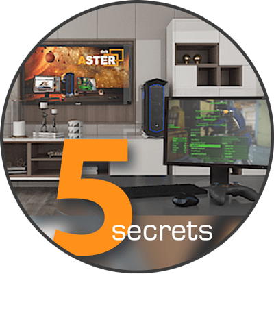 How can you create a workplace in home